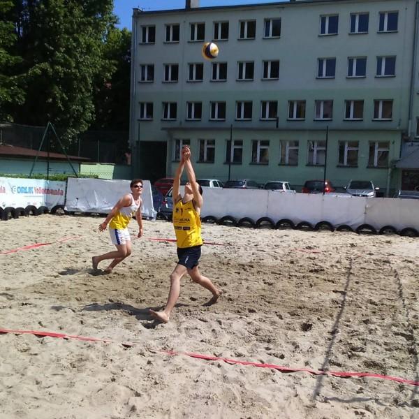 Mistrzostwa Powiatu w Piłce Siatkowej Plażowej chłopców