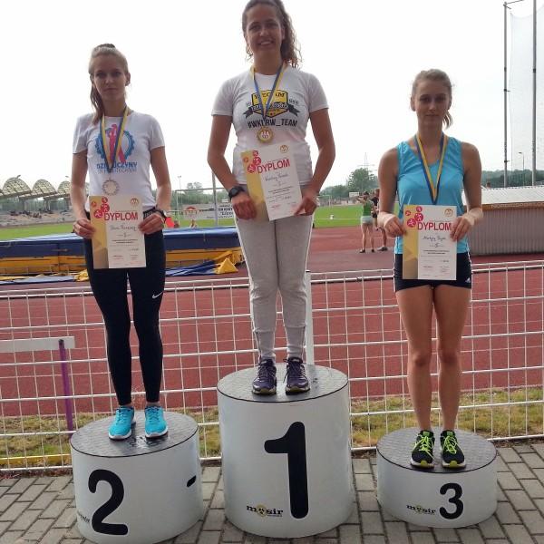 Wpadła na chwilę i …wywalczyła srebro!