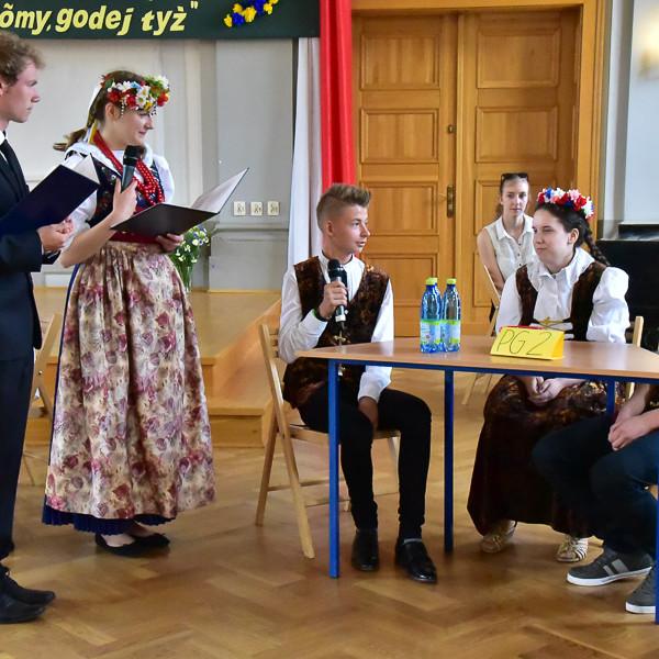 I Powiatowy Konkurs Gwary Śląskiej dla Gimnazjalistów w I LO