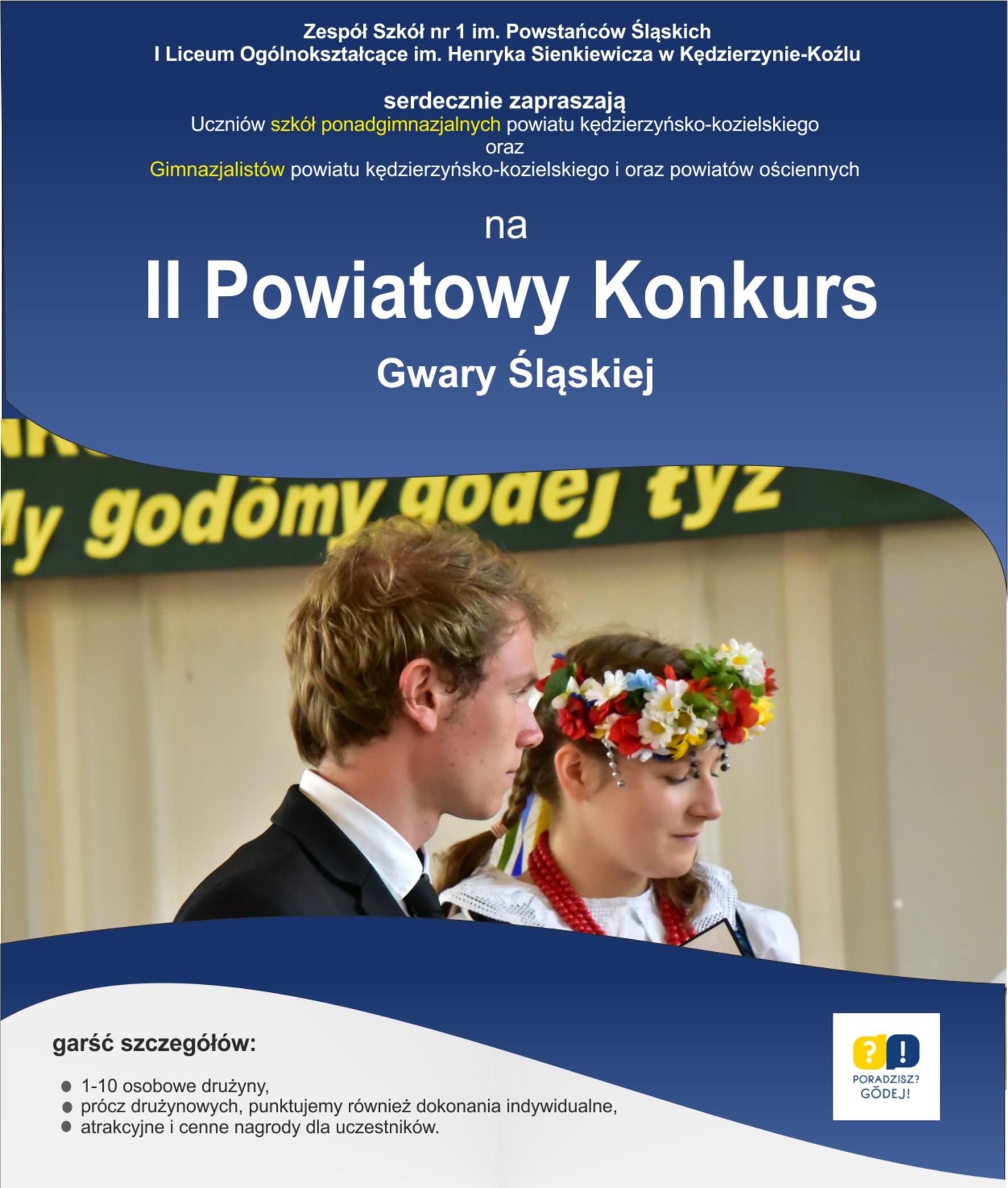 II Powiatowy Konkurs Gwary Śląskiej – poprawki