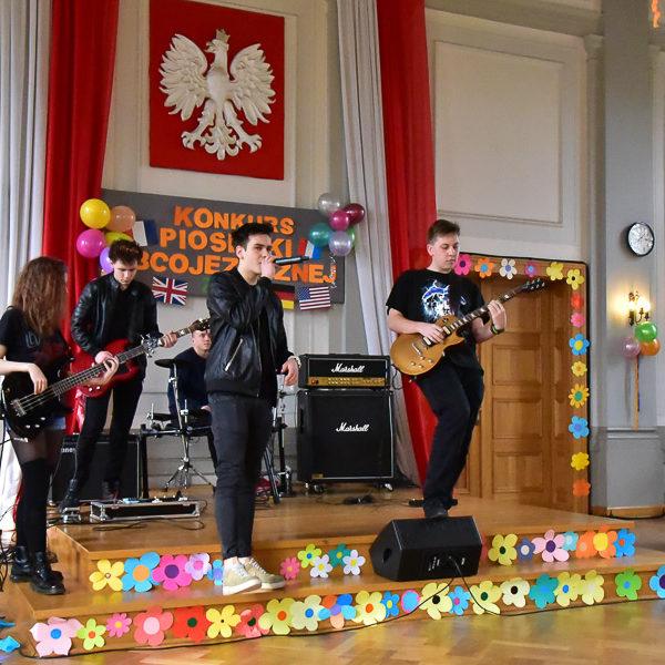 Konkurs Piosenki Obcojęzycznej (Edycja 2017) w I LO