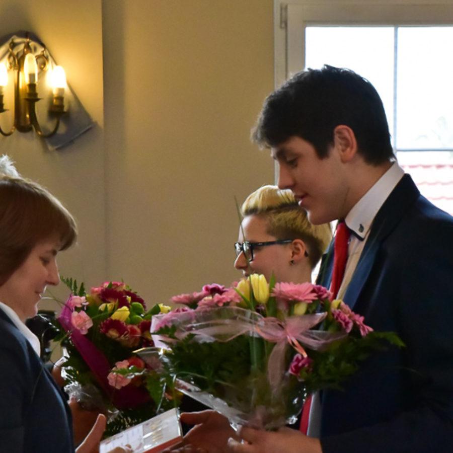 Pożegnanie maturzystów I LO, 28 kwietnia 2017 r.