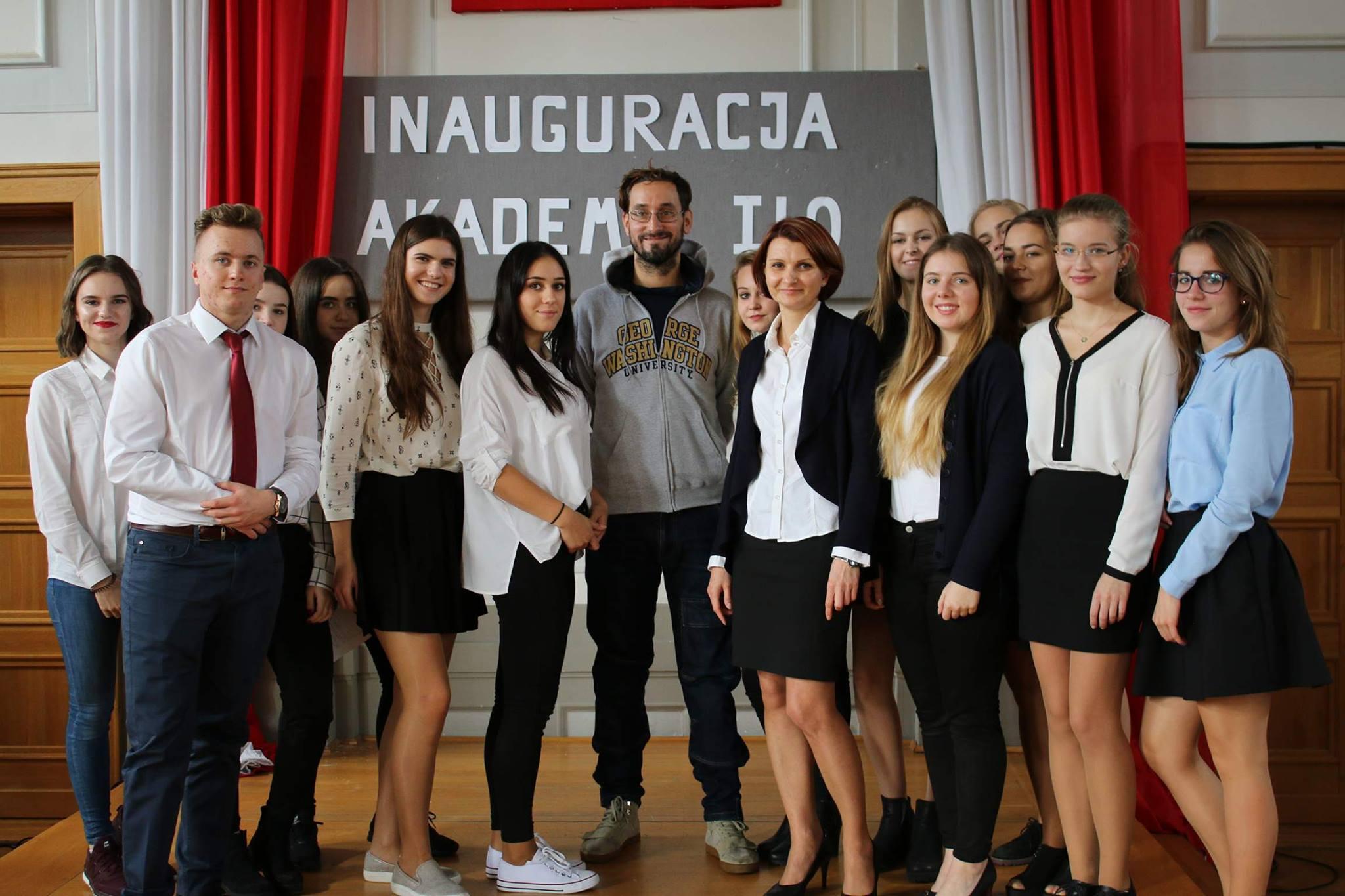 Inauguracja roku akademickiego AKADEMII I LO 2017/2018