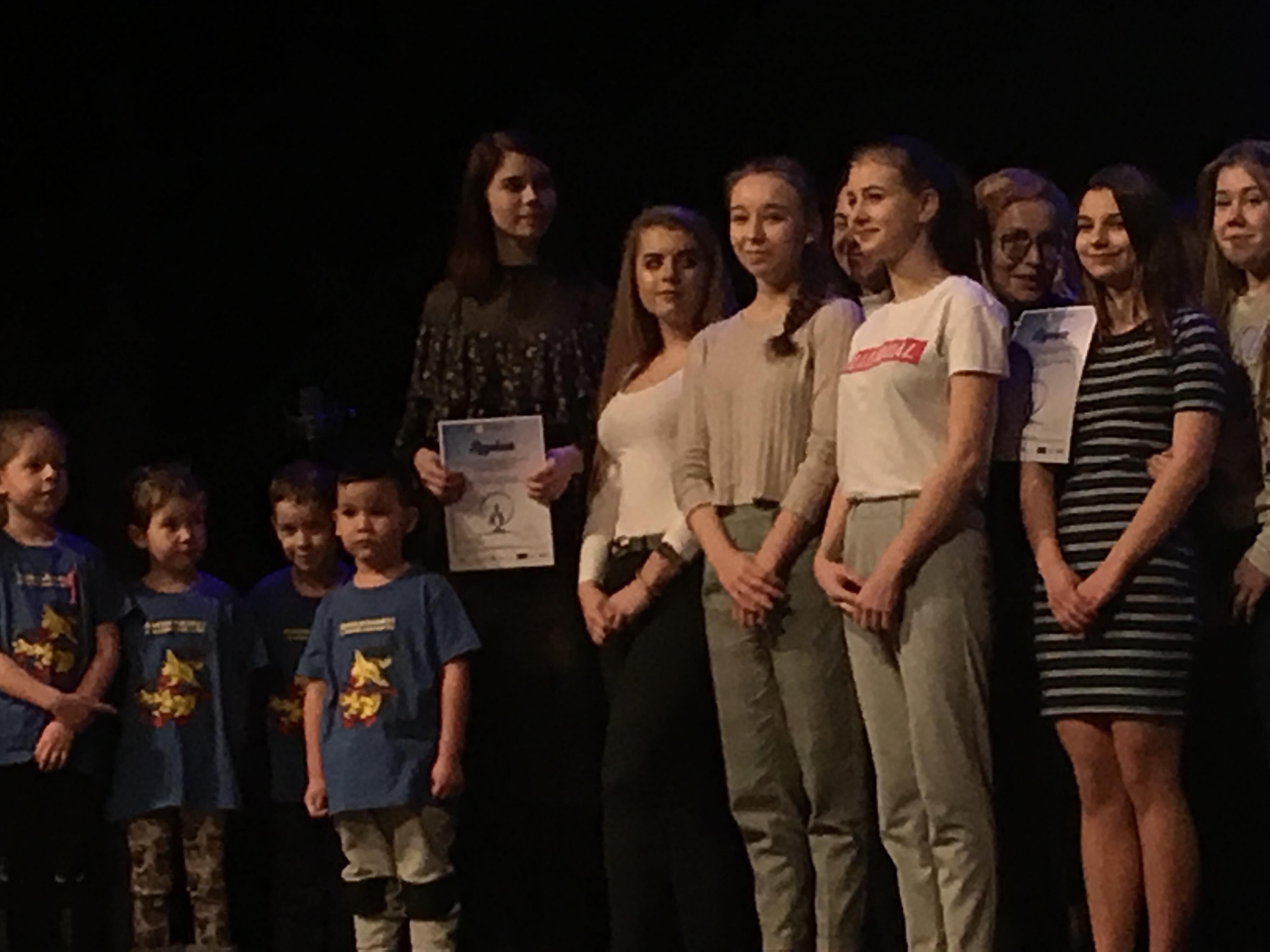 Sukces drużyny I LO na II Festiwalu Praw Człowieka w Kędzierzynie-Koźlu
