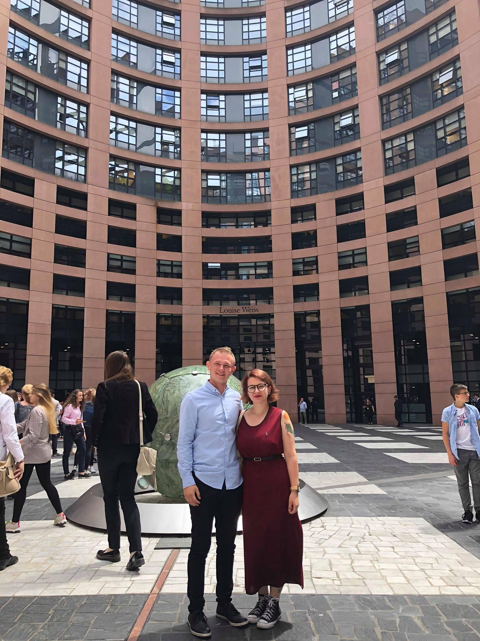 Pozdrowienia ze Strasburga i Parlamentu Europejskiego