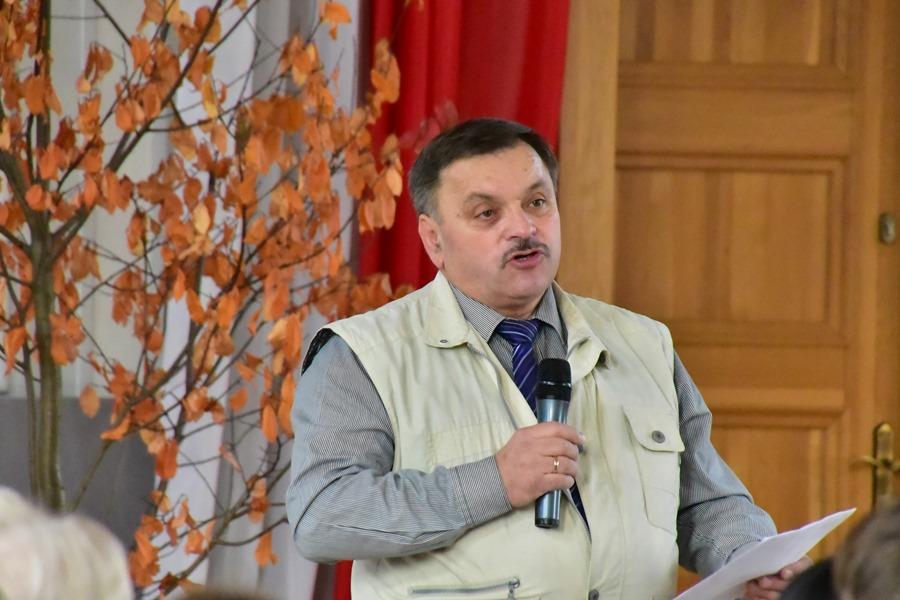 Dwujęzyczny wykład w auli I Liceum Ogólnokształcącego w Kędzierzynie-Koźlu , 26.10.2018