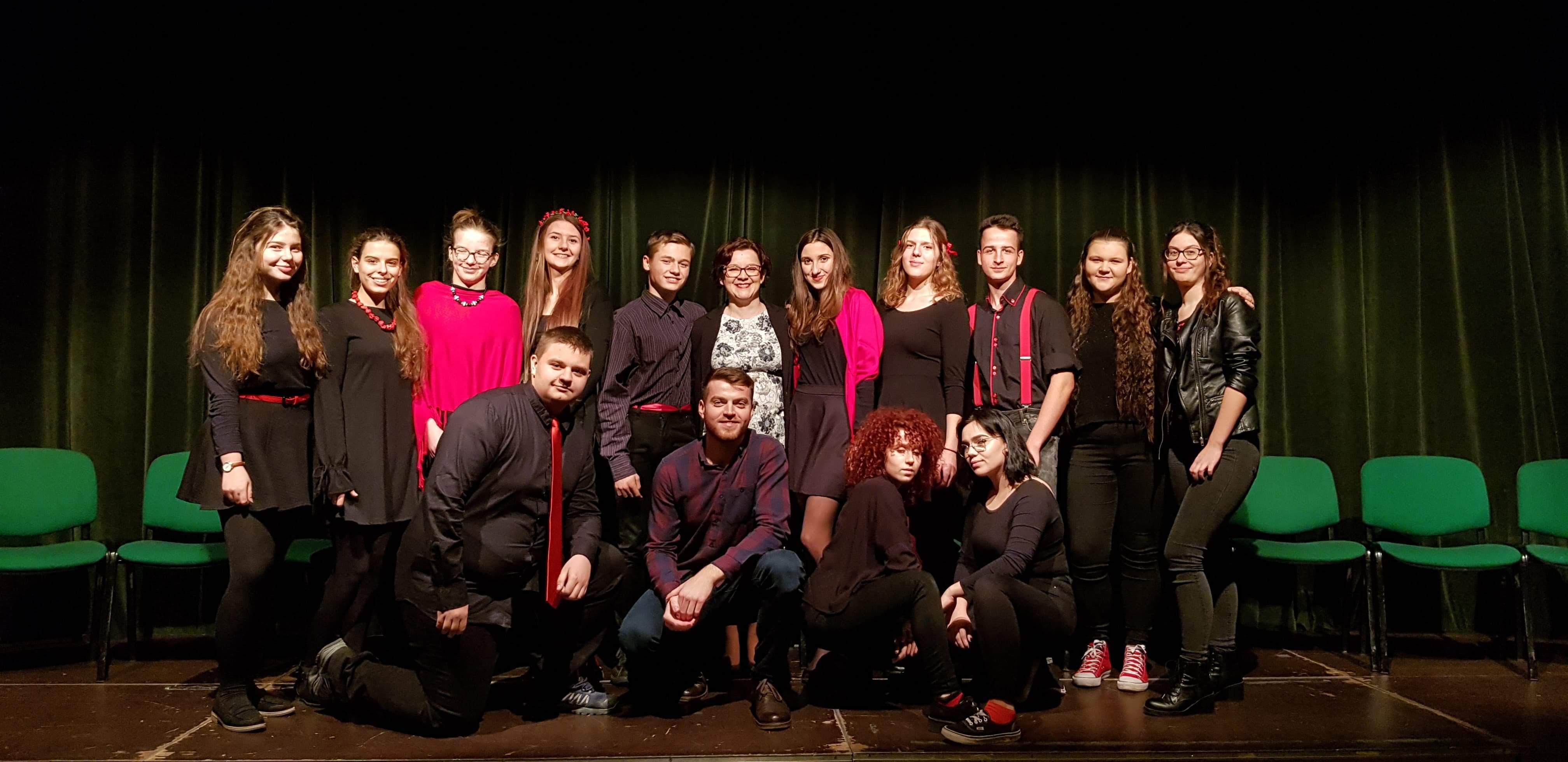 """Teatr Szkolny INCYDENT przedstawia spektakl """"Wyczha!""""; 26 listopada 2018 r."""