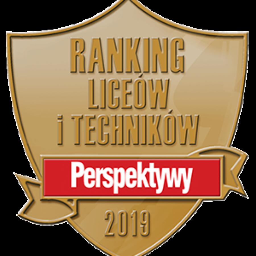"""MAMY SREBRNĄ TARCZĘ w rankingu """"PERSPEKTYW""""!"""