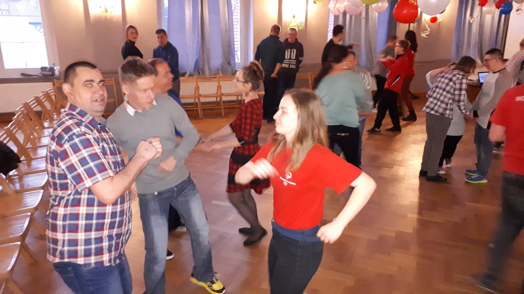 VII Bal Olimpiad Specjalnych w auli I LO; 21.02.19