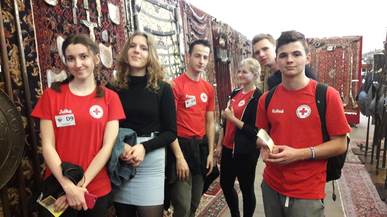 Szkolna Drużyna Pierwszej Pomocy PCK I LO na mistrzostwach w Brzegu – 06.04.19