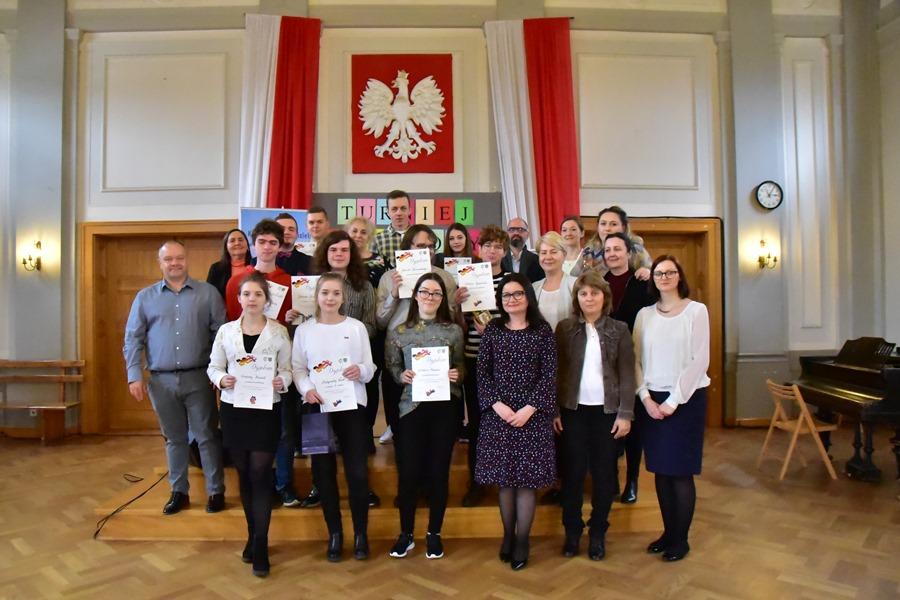 Finał Turnieju Językowego w I LO, 29.03.2019 r.