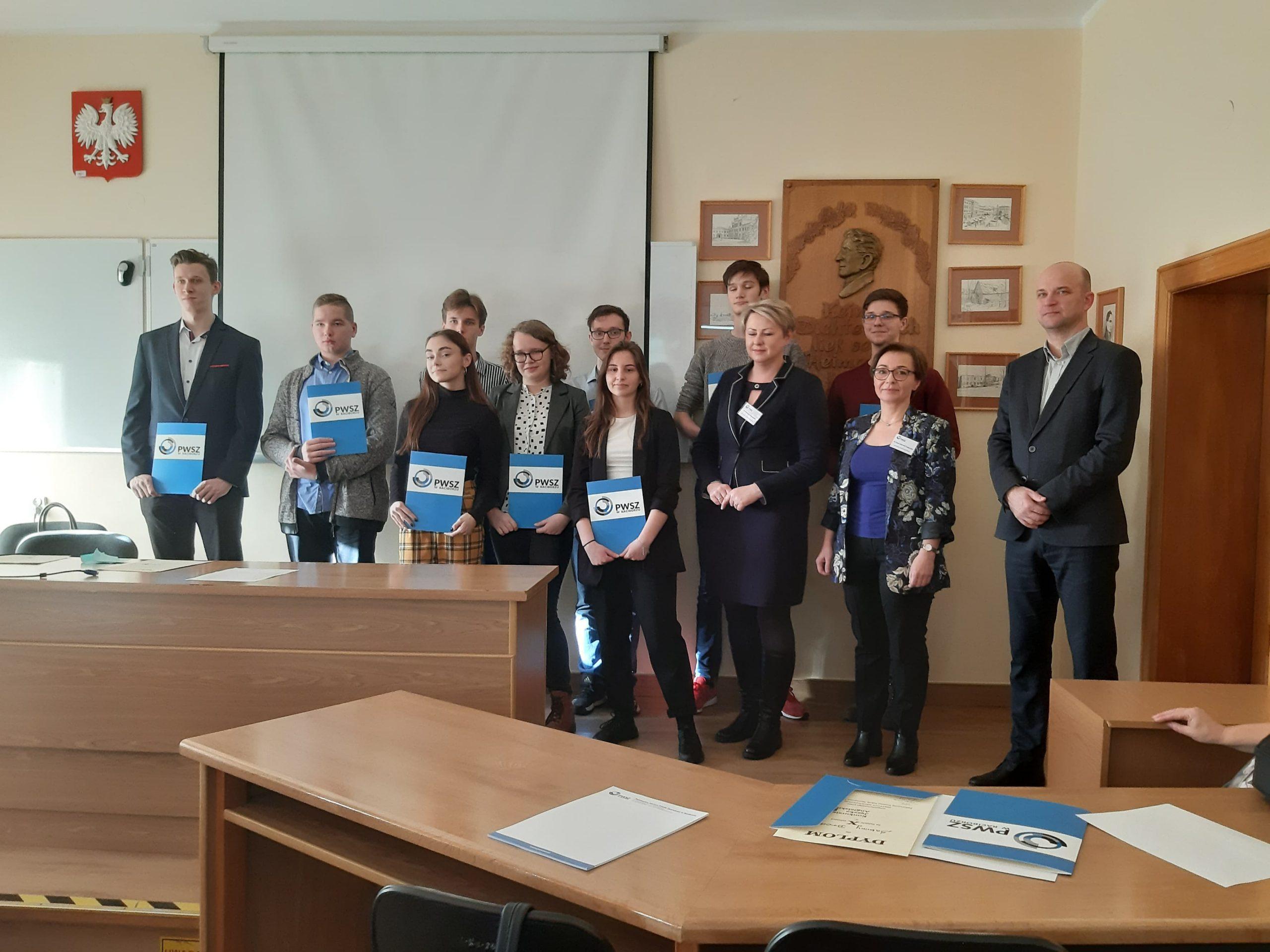 Sukces uczniów I LO w konkursie języka angielskiego w Raciborzu, 08.01.2020