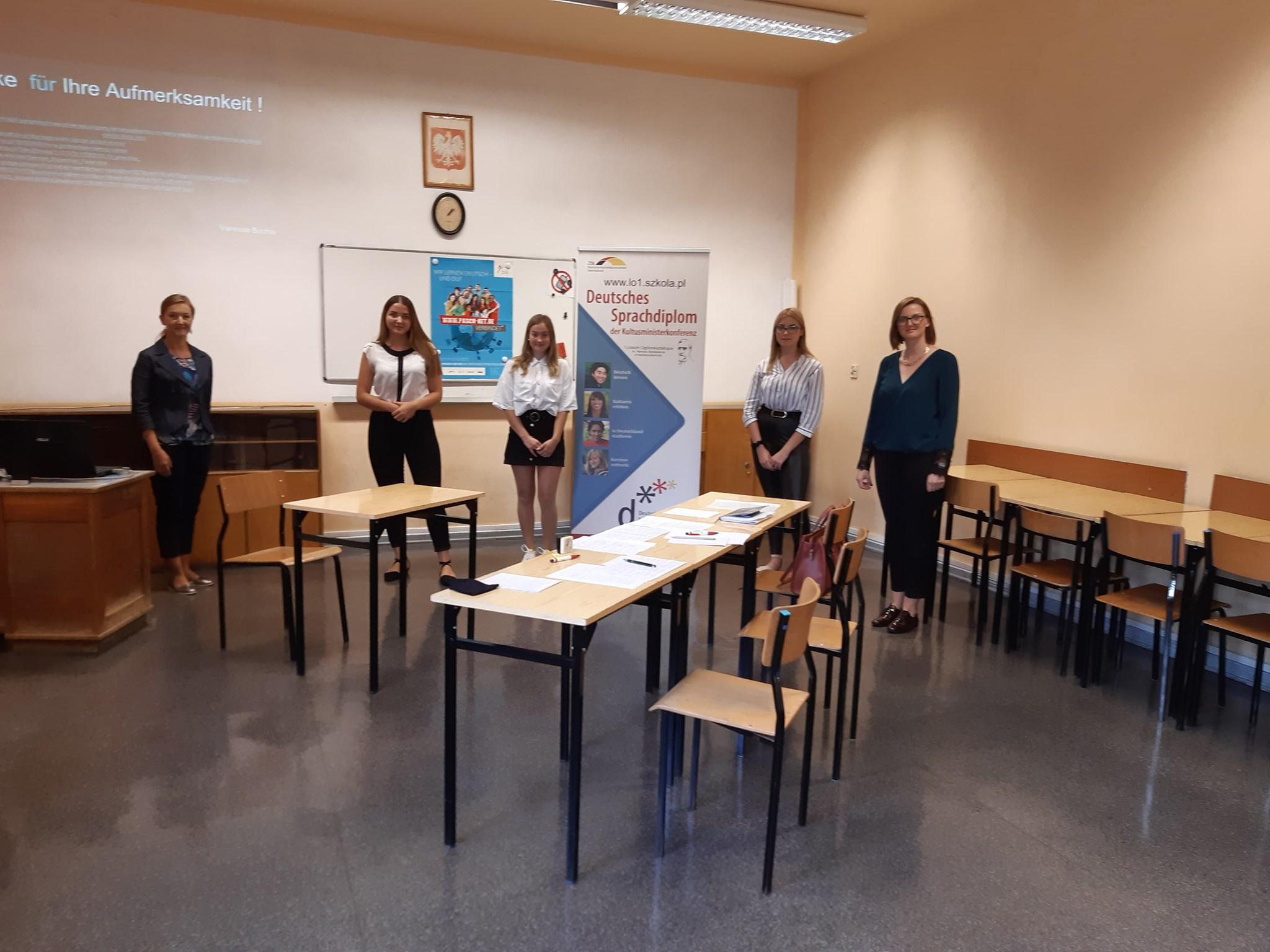 Egzamin DSD I w I LO, wrzesień 2020