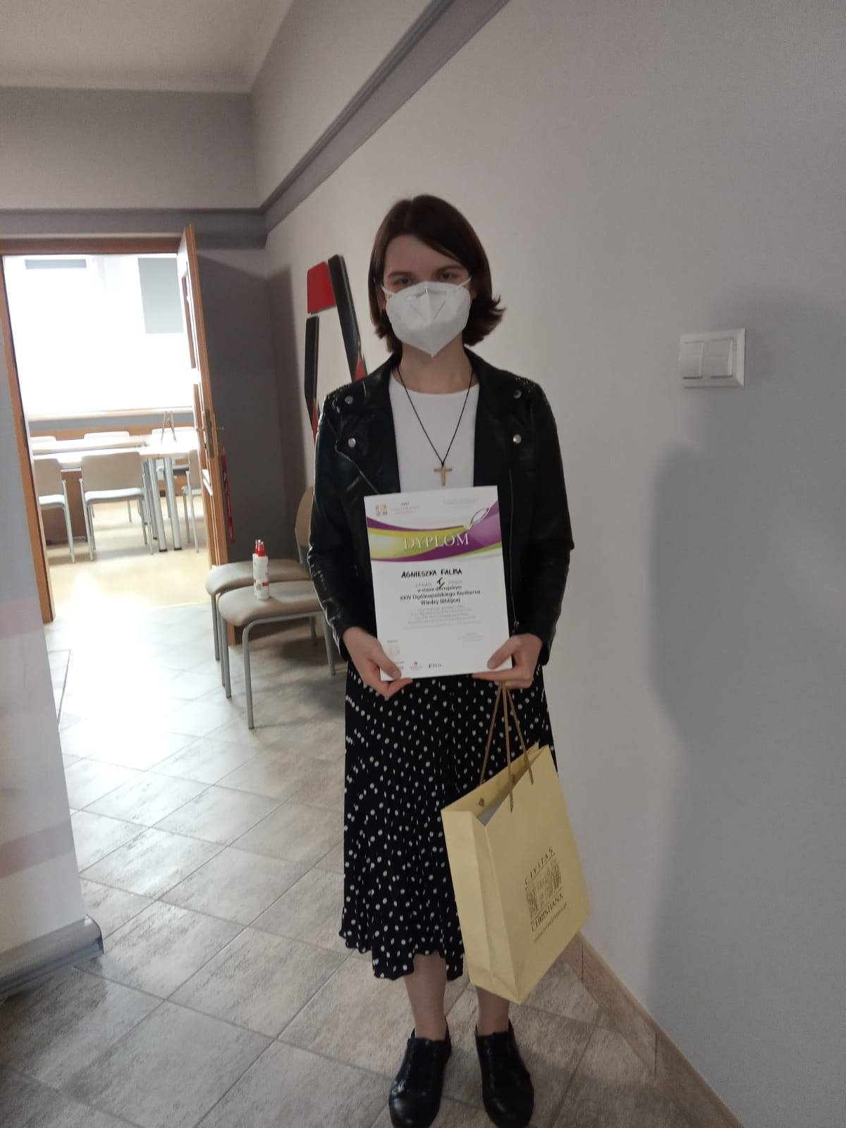 Opolski sukces Agnieszki Falby z klasy 2dg I LO