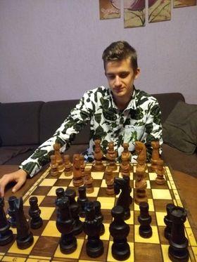 Szachowy sukces Adama Bujaka z I LO