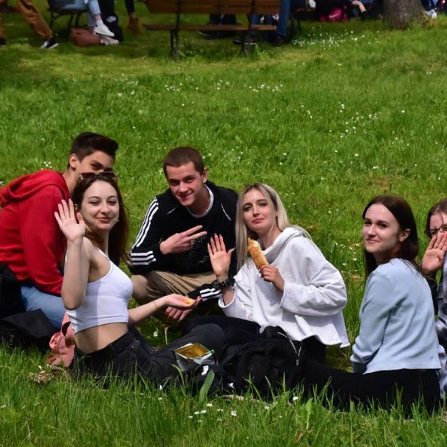 Piknik reintegracyjny dla młodzieży I LO w Dniu Dziecka 2021