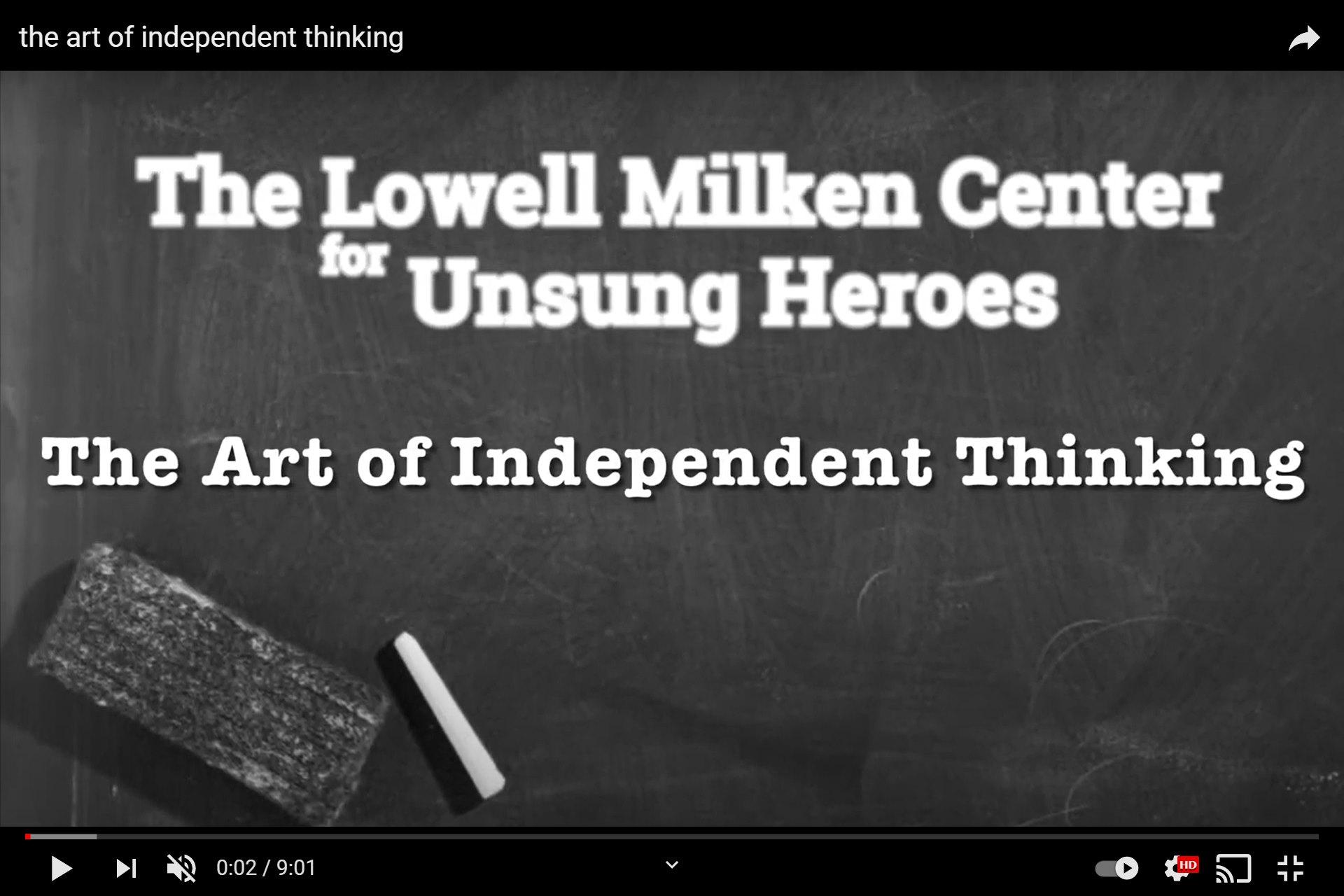 Uczennice I LO ukończyły reportaż dla Lowell Milken Center