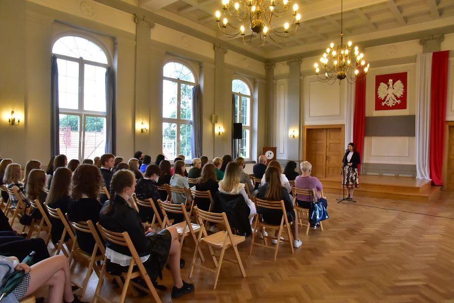 Inauguracja roku szkolnego 2021/2022 w I LO w Kędzierzynie-Koźlu